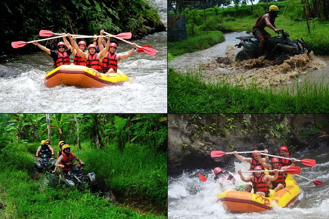 Triple Adventure in One Day White Water Rafting,Quad Bike,Giant Swing Bali