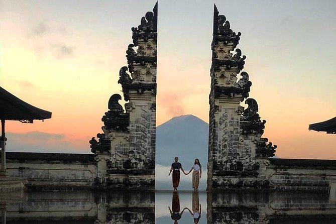 Sunrise At The Gate Of Heaven Lempuyang Luhur Bali