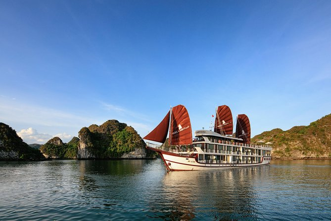Perla Dawn Sails 2 Days 1 Night - Lan Ha Bay Luxury Cruise