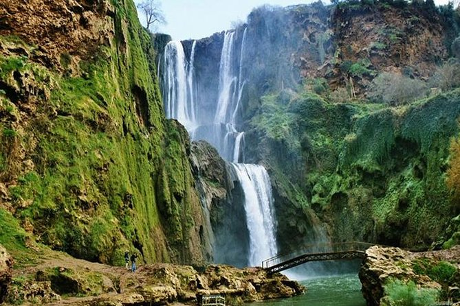 Ouzoud Waterfalls from Marrakech with Boat Ride