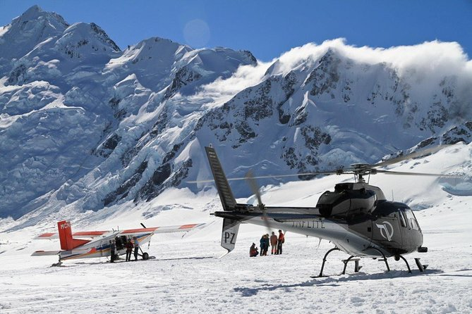45-Minute Mount Cook Ski Plane and Helicopter Combo Tour