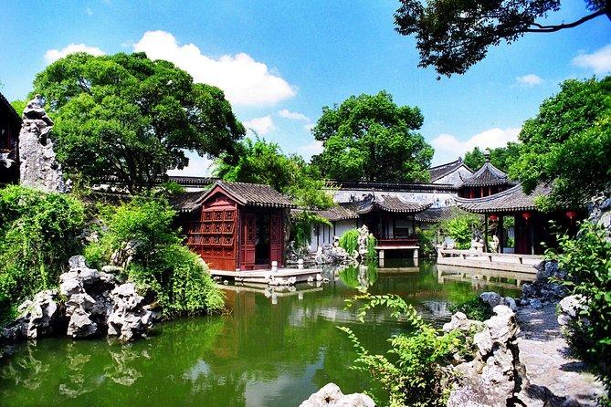 Privat Suzhou Ancient Town och Tongli Water Village Dagstur från Shanghai