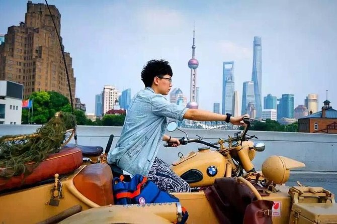 3-Hour Shanghai Jewish Ghetto Tour including Sidecar Experience