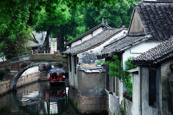 All inclusive Privat Tongli Water Village Dagstur från Shanghai