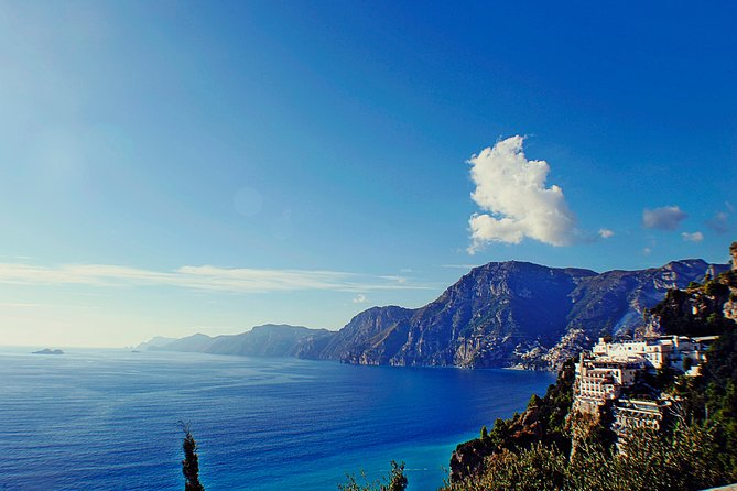 Visite privée : visite de Pompéi et de la côte amalfitaine au départ de Naples