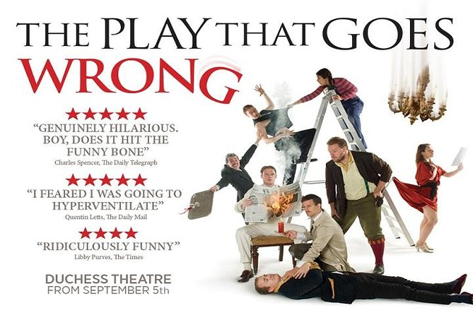 The Play That Goes Wrong Theater Show in London