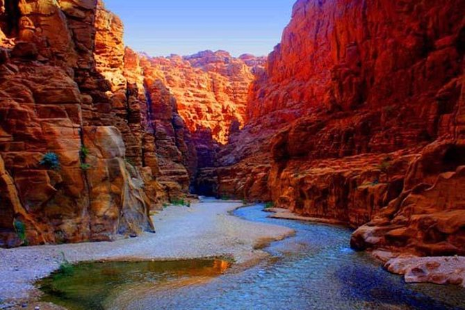 Private Wadi Mujib Siq Trail Hiking Experience from the Dead Sea