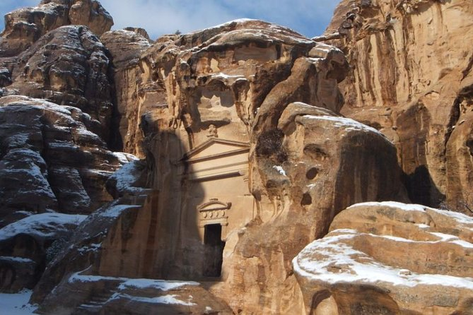 Private Full Day Petra Tour With Little Petra from Dead Sea