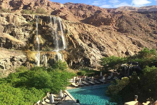 Private Half-Day Ma'in Waterfalls and Hot Springs Tour from Amman