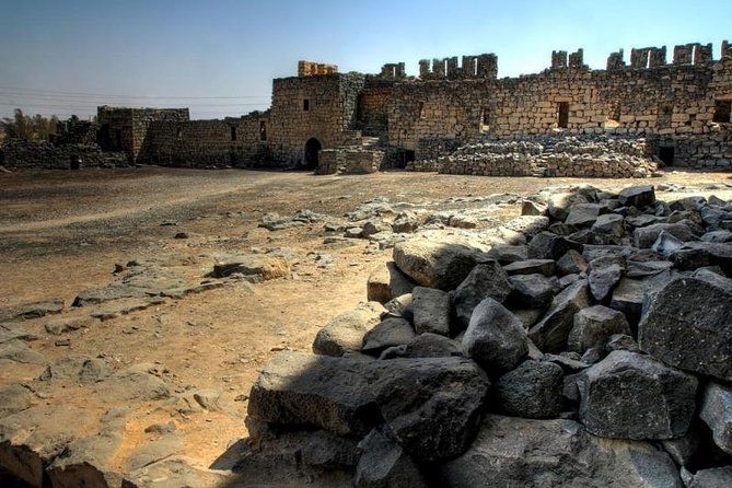 Private Tour: Full-Day Islamic Desert Castles and Ajloun Castle Trip from Amman