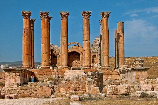 Private North Tour: Jerash and Ajlun Including Amman Panoramic from Dead Sea