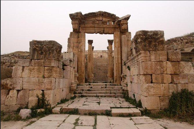 Private North Tour: Jerash, Ajloun, and Pella from Dead Sea