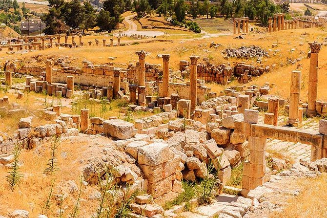 Private North Tour Jerash Ajloun and Um Qais from Dead Sea