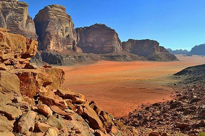 5-Hour Wadi Rum Private Tour from Petra with Martian Film Site