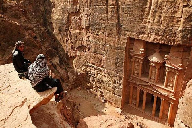 Private Back Trail Tour of Petra starting from the Monastery