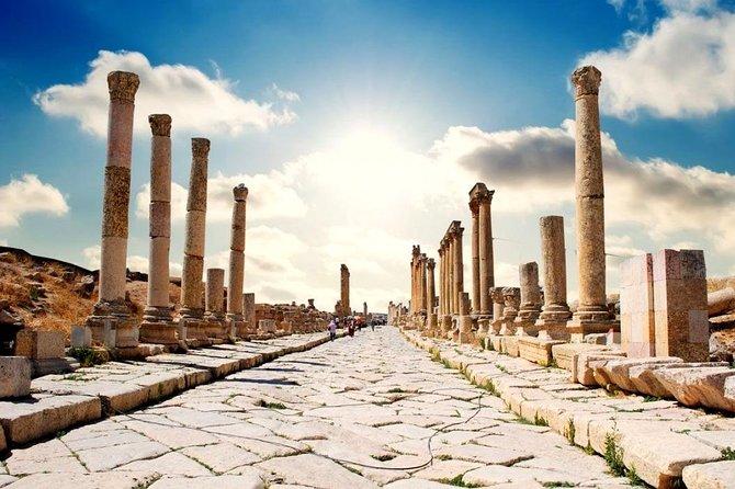Full-Day Tour: Umm Qais, Jerash, and Ajloun from Amman