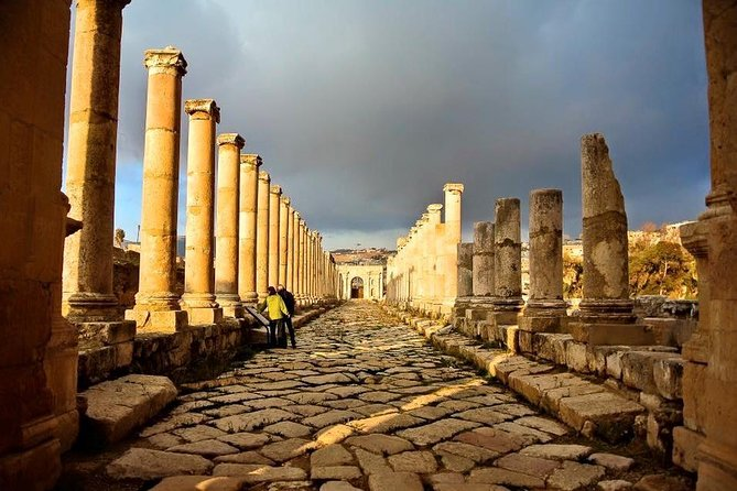 One Day Tour to Jerash and Ajloun Castle From The Dead Sea