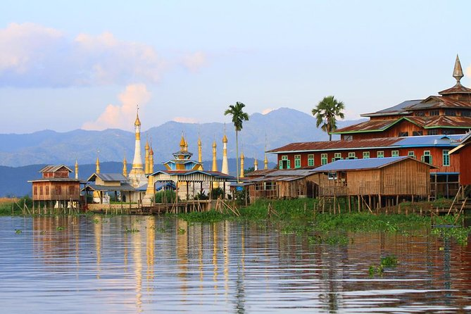 Sunset on Inle Lake Private Cruise