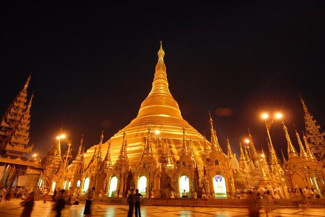 Shwedagon Pagoda Yangon Evening Tour