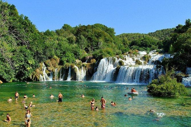 Smiley National Park Krka Waterfalls from Dubrovnik