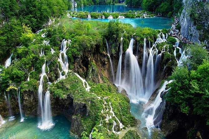 Plitvice Lakes National Park Guided Tour from Split
