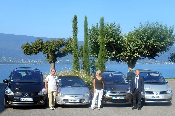 Transfer from Annecy Airport to Geneva or Lyon