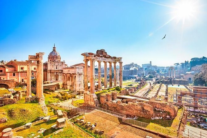 Rome Private Driving Tour 6 hours