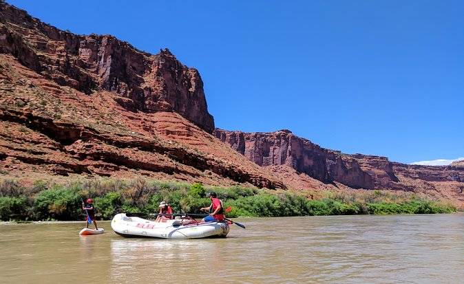 Moab Rafting Morning Half-Day Trip