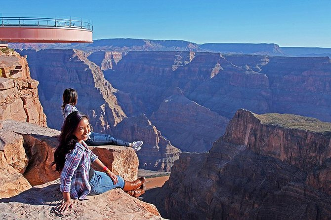Evite as filas: Passeio expresso de helicóptero para o Skywalk do Grand Canyon