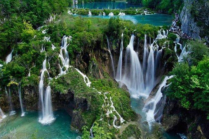 Tour dei laghi di Plitvice e avventura Zip line