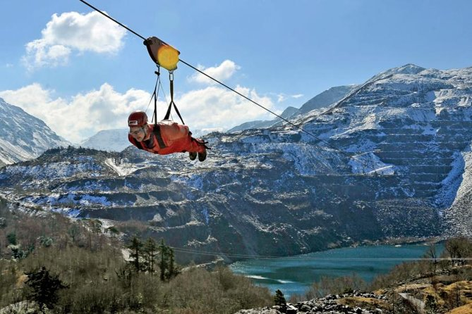 North Wales Overnight Tour from Llandudno including Zip World