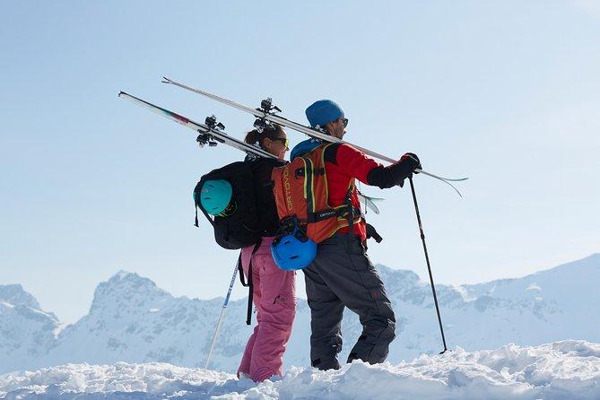 Ski Touring Guide in Bivio, Swiss Alps