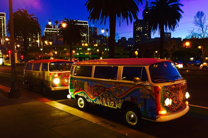 Sunshine & Love Bus at Night
