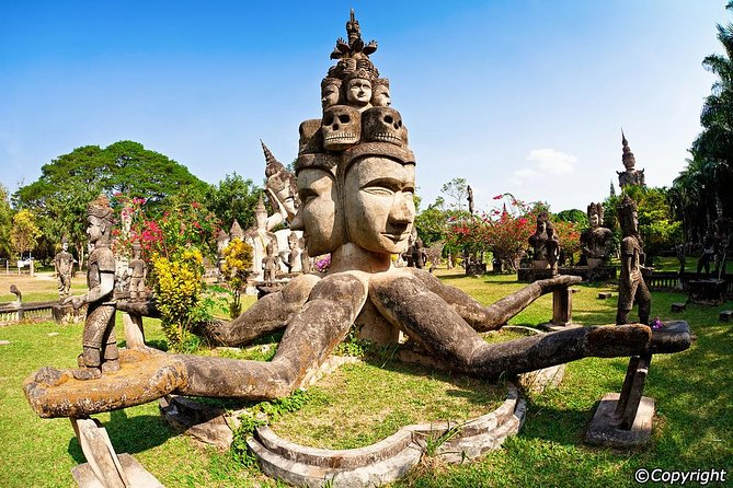 Private Tour: Vientiane City Sightseeing and Buddha Park
