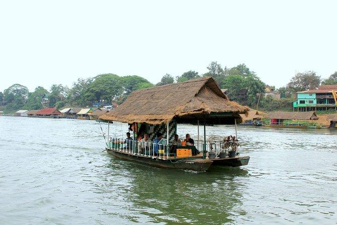 Private Full Day Buddha Park and Nam Ngum Lake Tour
