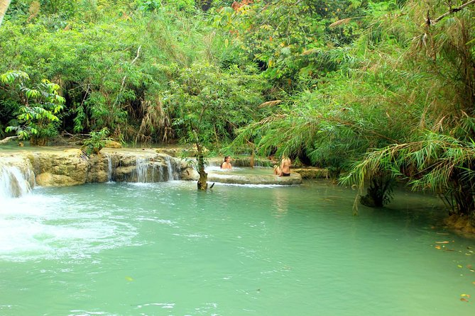 Private Day Trip to Pak Ou Cave and Kuang Si Waterfall from Luang Prabang photo 1