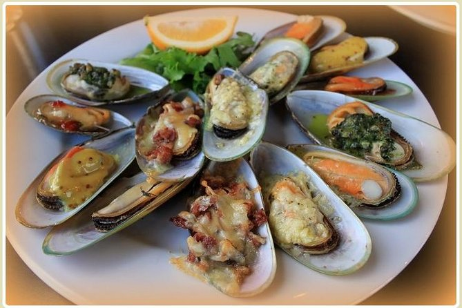 Tasty Green lip Mussels Marlborough