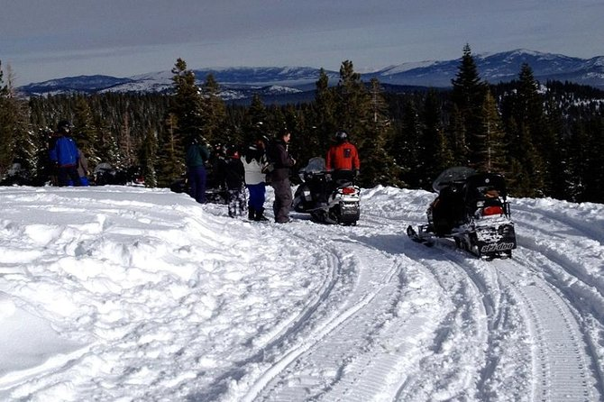 Snowmobile the Sierra's