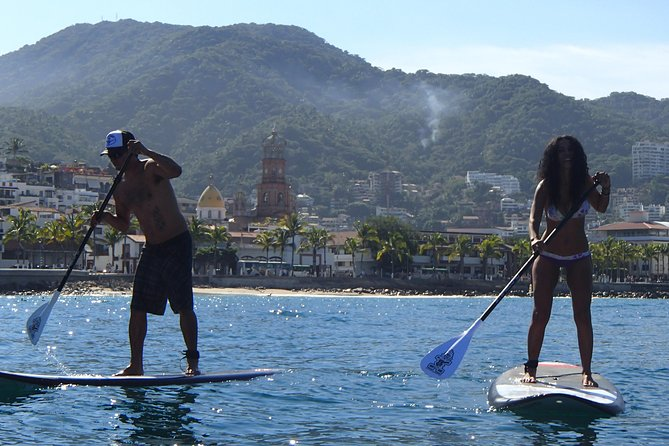 Stand-Up Paddle Board Lesson in Puerto Vallarta