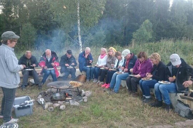 Outdoor Evening Cooking in Svartadalen