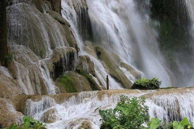 Laos: Wonderful Trip Alms Offering-Pak Ou Caves-Kuang Si Fall-Mon Tribe Village