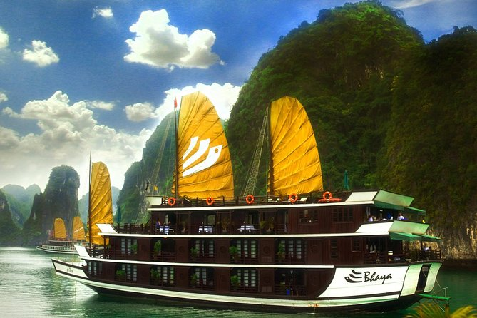 Hanoi : Halong Bay On Bhaya Cruise Top Sighseeing photo 1