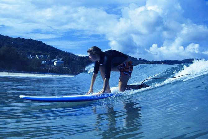 Surfing on Kata Beach Phuket