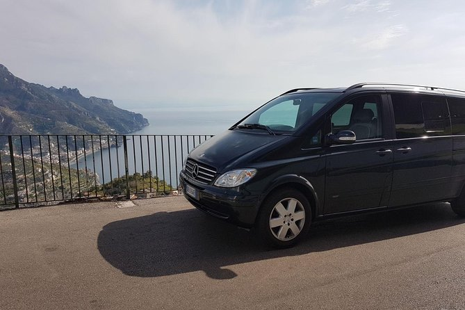 Transfer from Rome to Amalfi Coast with stop in Pompeii - Skip the line included