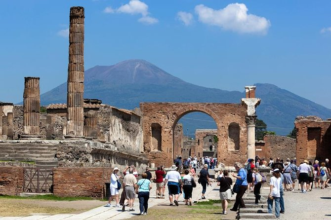 Pompeii and Herculaneum led by an Archaeologist with private transport