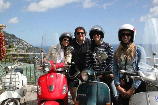 Vespa Tour from Sorrento to Positano and Amalfi
