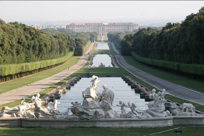 Caserta royal palace tour 4 hours by mercedes and private driver from Naples