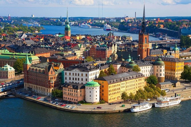 5-hour Stockholm Grand Shore Excursion