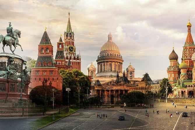 Kleingruppen Visa Kostenlos St. Petersburg und Moskau 3 Tage Grand Landausflug