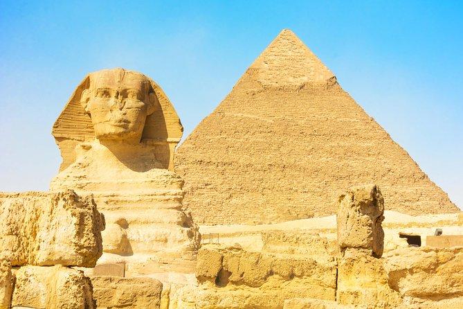 Private Tour: Giza Pyramids, Egyptian Museum, and Khan al-Khalili